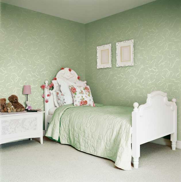 Grandi progetti piccoli spazi il colore interni e - Colore verde per camera da letto ...