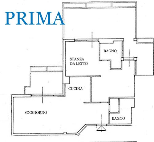 Organizzazione spazi chiedi all 39 architetto blog for Semplici planimetrie domestiche