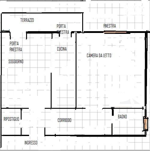 Organizzazione spazi chiedi all 39 architetto blog for Planimetria stanza