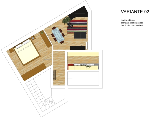Arredare casa con angoli irregolari   casa & design