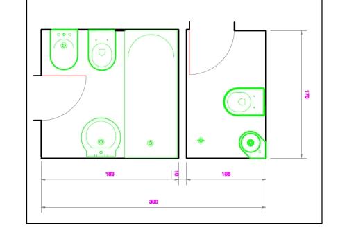Angolo chiedi all 39 architetto blog - Bagno piccolo dimensioni minime ...