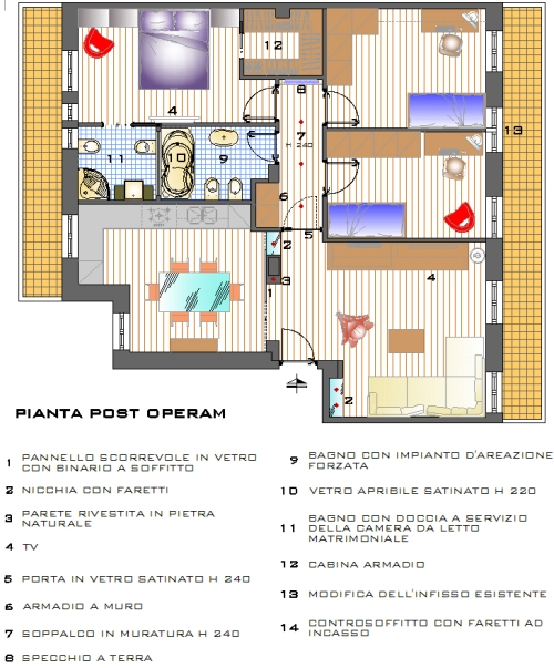 Architettura piante case idea creativa della casa e dell for E design della casa