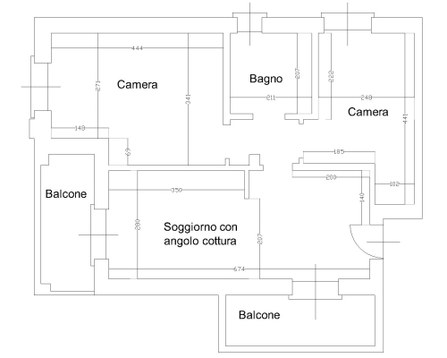 Cucina Ad Angolo Misure Standard - The Studio Apartments