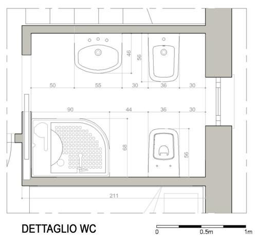 Chiedi all 39 architetto blog - Dimensioni minime bagno in camera ...