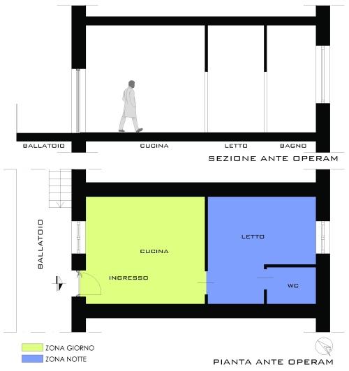 Pianta casa 70 mq excellent casa a schiera ipotesi with for 1300 metri quadrati di piano casa