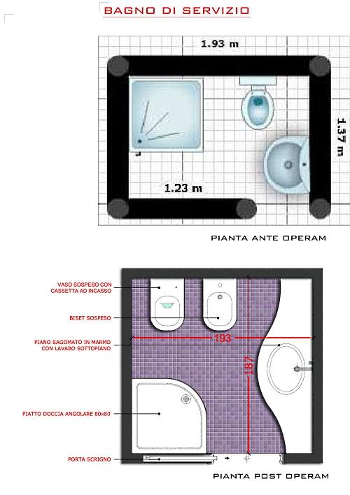 Progetti per bagni piccoli for Progetti per ristrutturare casa