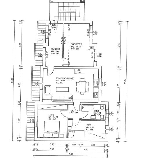 Angolo chiedi all 39 architetto blog - Planimetria casa moderna ...