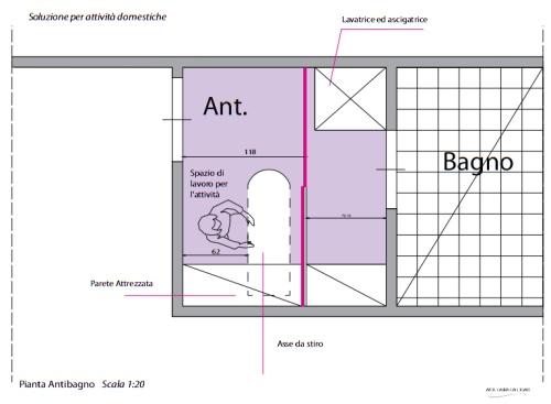 Organizzare la lavanderia nell antibagno casa design - Bagno e antibagno ...