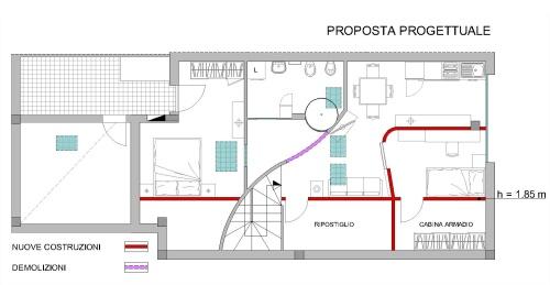 Angolo chiedi all 39 architetto blog - Altezza minima bagno ...