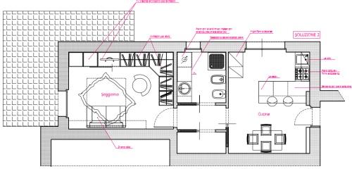 Angolo chiedi all 39 architetto blog - Dimensione cucina ...
