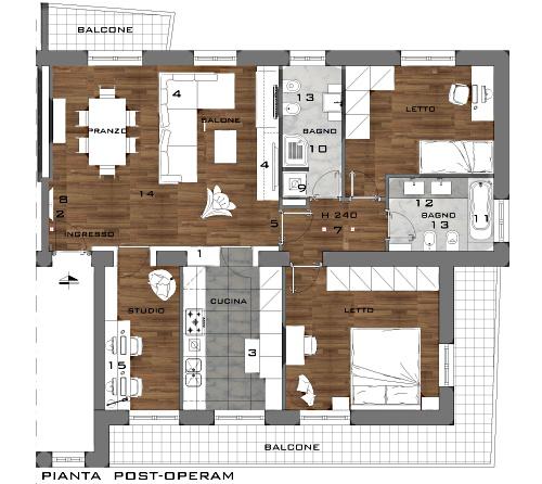 ricavare uno studio per lavorare da casa - casa & design - Ricavare Angolo Studio In Soggiorno 2
