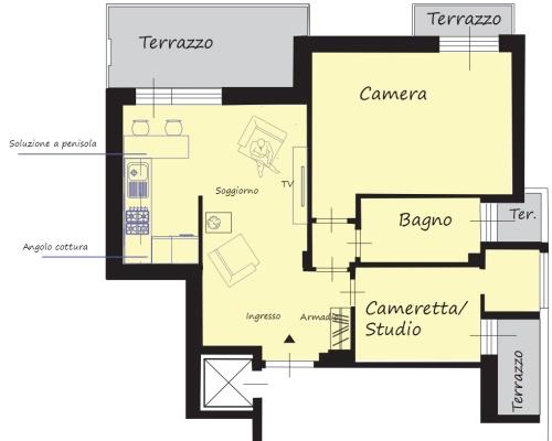 Angolo chiedi all 39 architetto blog - Disposizione stanze in una casa ...