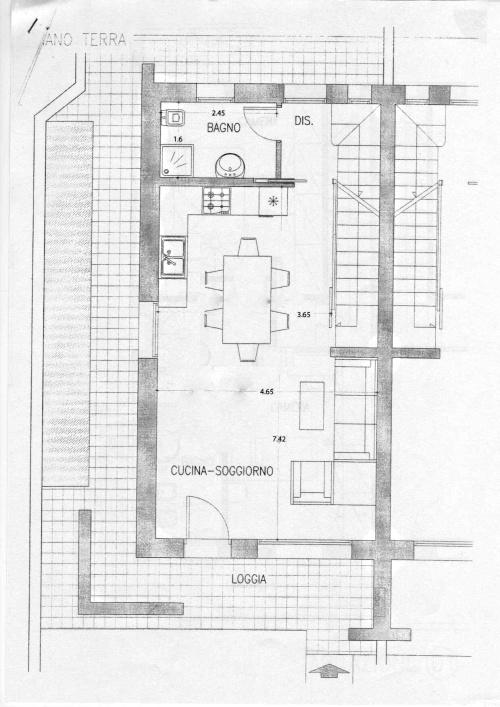 angolo » chiedi all'architetto - blog - repubblica.it - Soggiorno Living Con Cucina A Vista 2