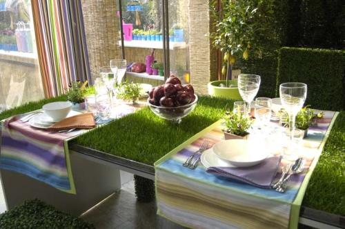 Il giardino si serve a tavola - Casa & Design
