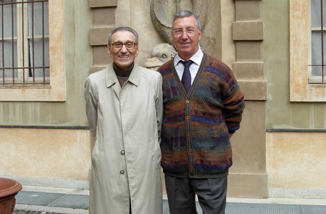 Silvio Rosso con  Aleardo Ceol