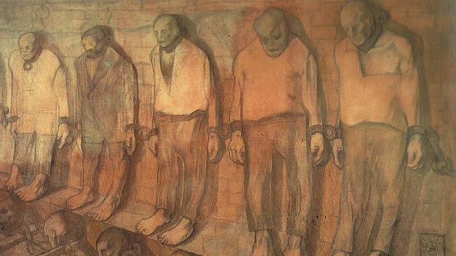 """""""Consuetudine"""", Lorenzo Viani, 1907 (Viareggio 1882, Lido di Ostia 1936)"""