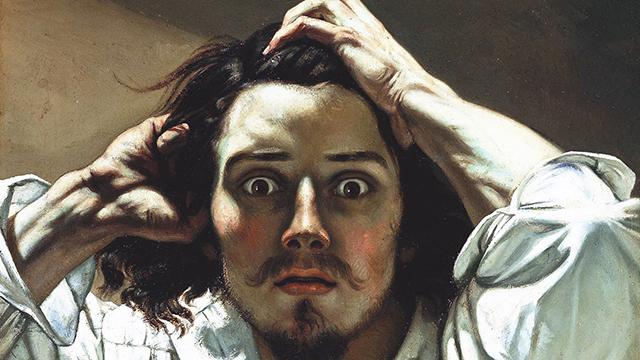 Gustave Courbet, Autoritratto o uomo disperato, ca. 1843