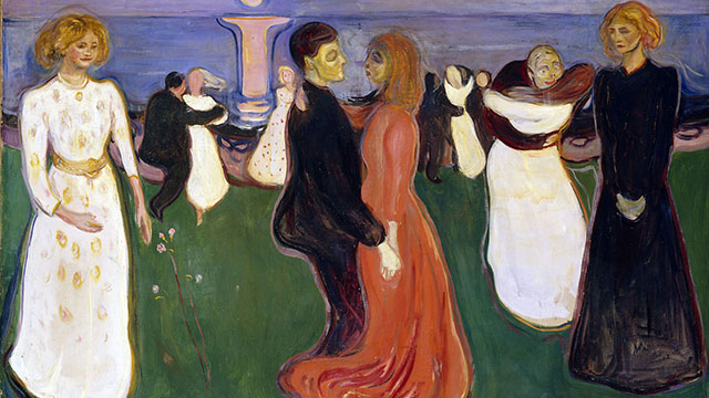 Edvard Munch, The dance of life, 1899-1900