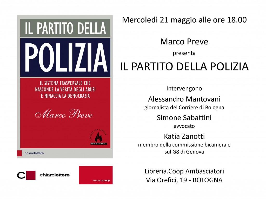 IL PARTITO DELLA POLIZIA BOLOGNA 21.05.14
