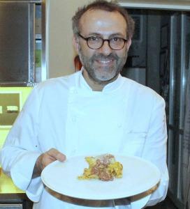 Massimo Bottura dell'Osteria Francescana
