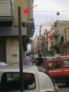 La segnaletica stradale mancante all'incrocio tra via Trevisani e via Nicolai