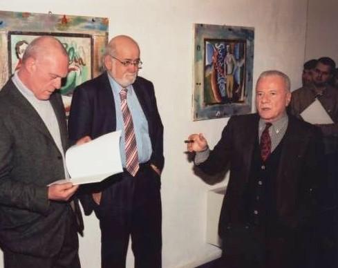 Sandro Chia, Emilio Mazzoli e Achille Bonito Oliva