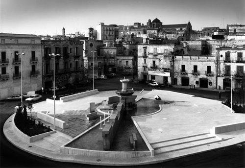 La piazza com'era