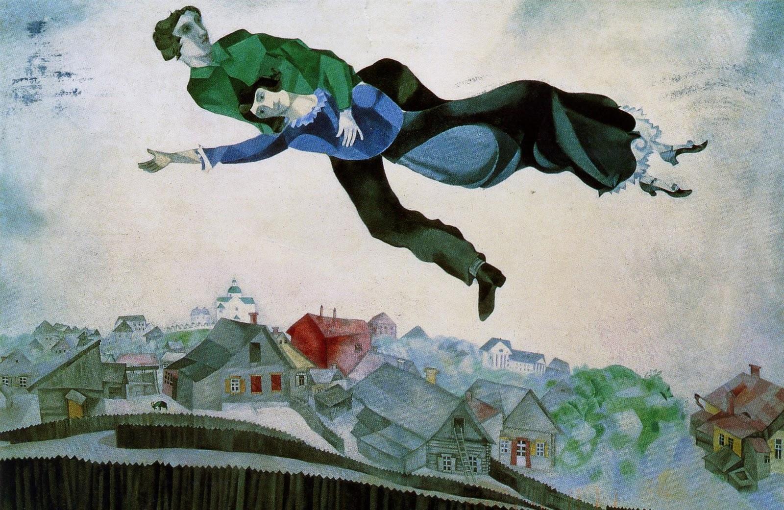 Chagall. Amanti