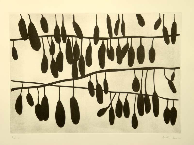 Un'opera di Salvatore Sava, artista pugliese, nella collezione permanente del MIG