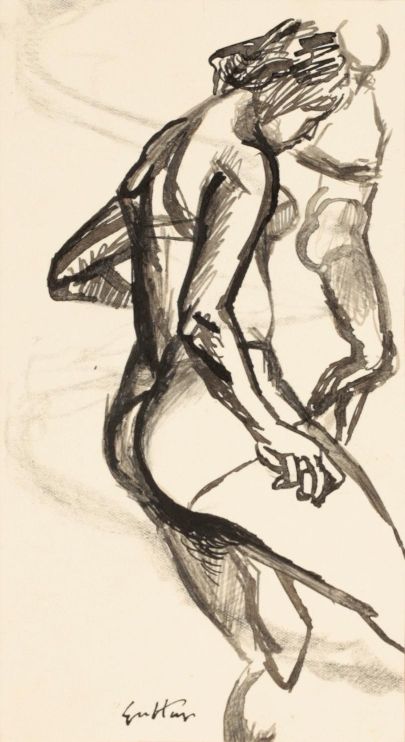 Renato Guttuso, Studio per Le bagnanti