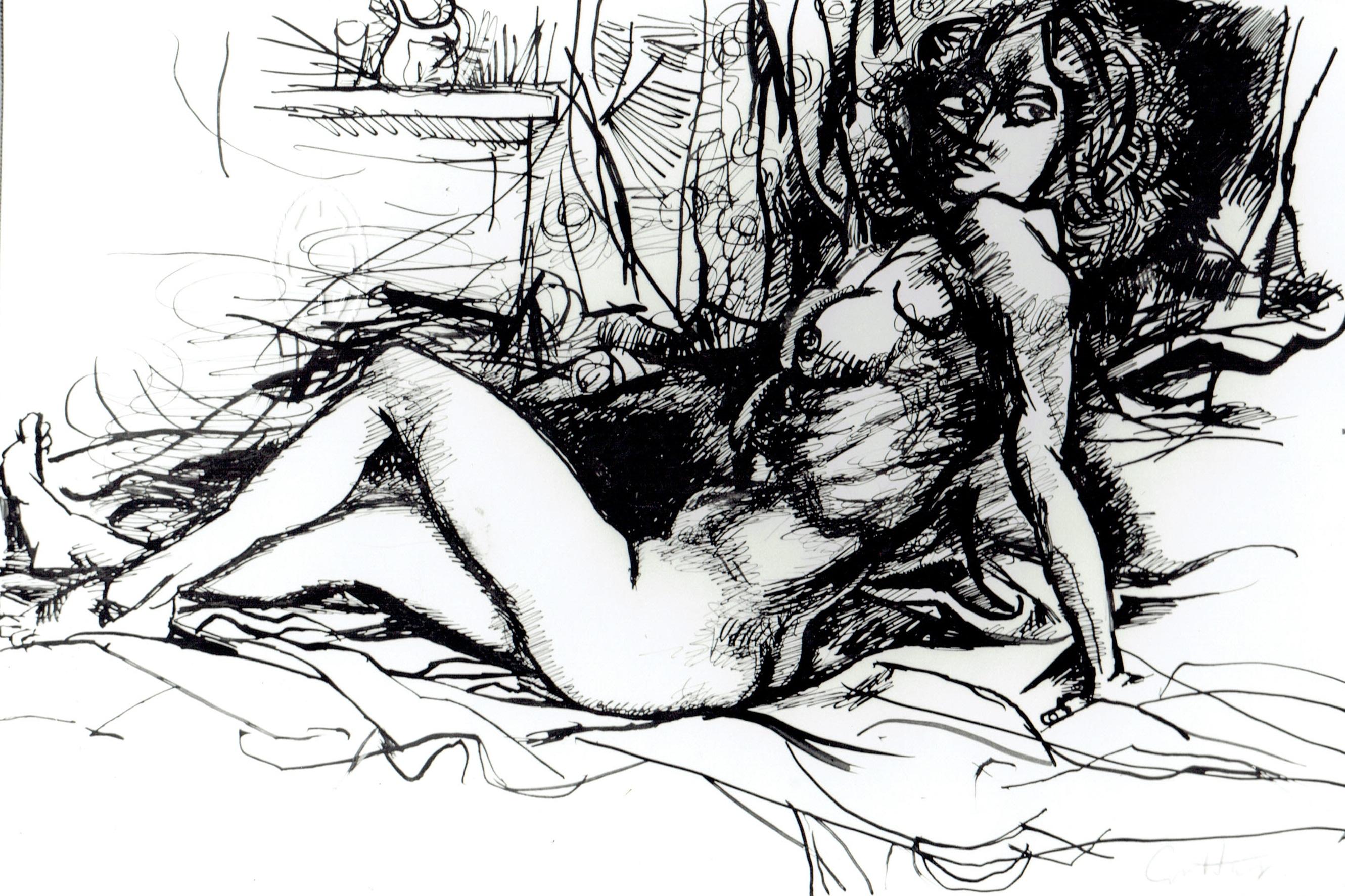 Renato Guttuso, Nudo