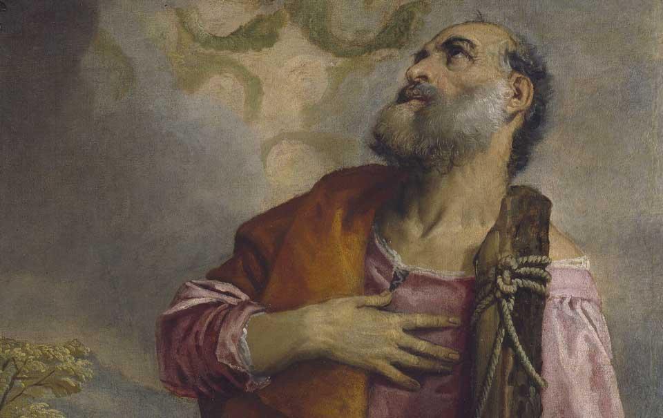Paolo Veronese, San Giacomo Minore e San Filippo, particolare, Dublino, National Gallery of Ireland