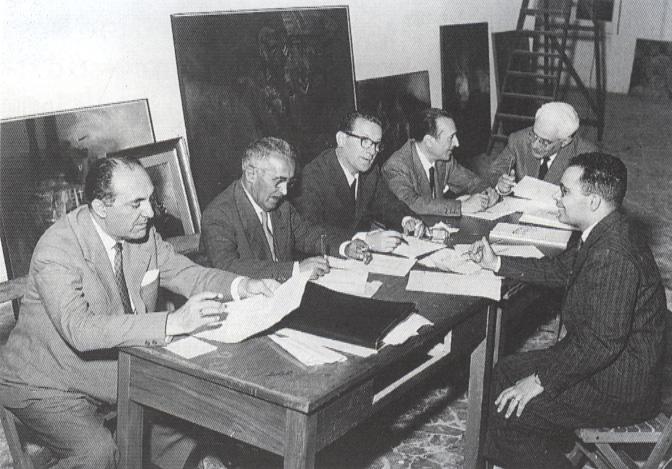 Giuria del Maggio di Bari, 1961.