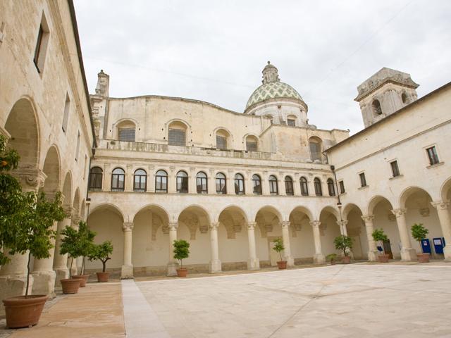 Chiostro del Rettorato dell'Università del Salento