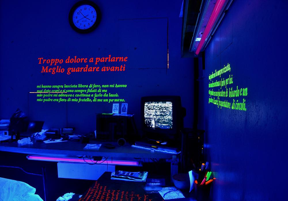 Sandro Marasco, La stanza, installazione ai Cantieri Teatrali Koreja di Lecce, 2012