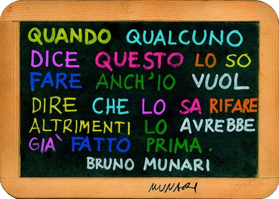 Opera di Bruno Munari in mostra a Foggia