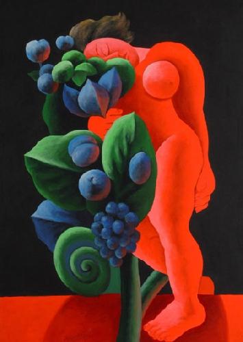 Un dipinto di Pignatelli