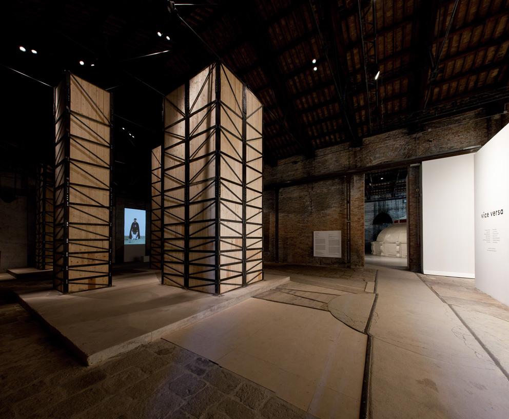 Installazione di Francesco Arena al Padiglio Italia della Biennale di Venezia 2013