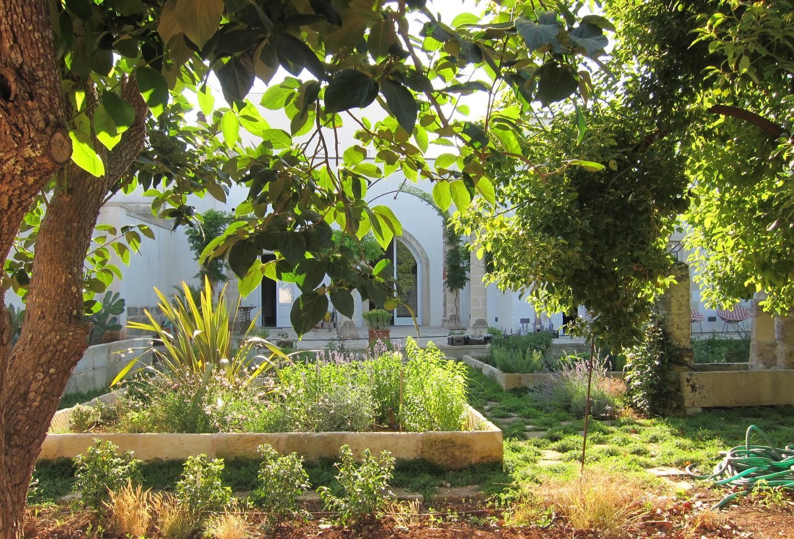 Il giardino di Casa Benson Miller
