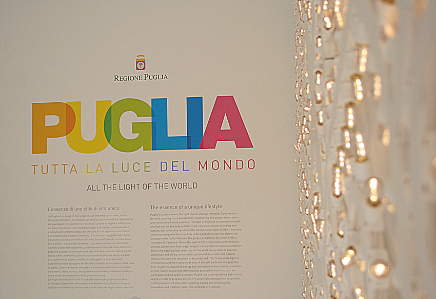 Il Padiglione Puglia di Expo 2015