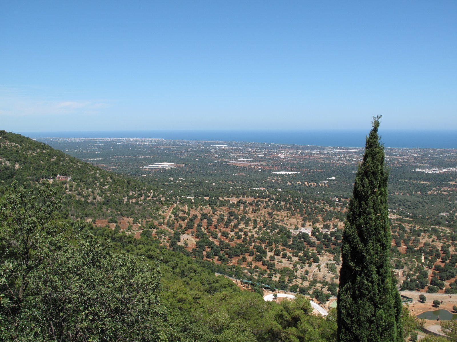 Selva di Fasano dove De Bellis trascorre le sue vacanze in famiglia
