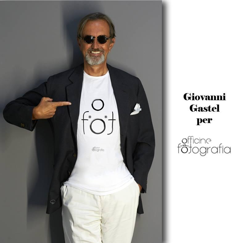 Giovanni Gastel, fotografo di moda internazionale, tra i testimonial di Officine della Fotografia