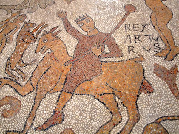 Particolare del mosaico di Otranto