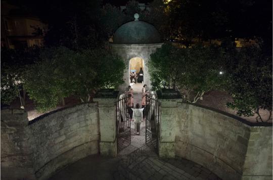 Luigi Presicce, Le tre cupole e la torre delle lingue, 27 luglio 2013, Gagliano del Capo. Ph.  Jacopo Menzani