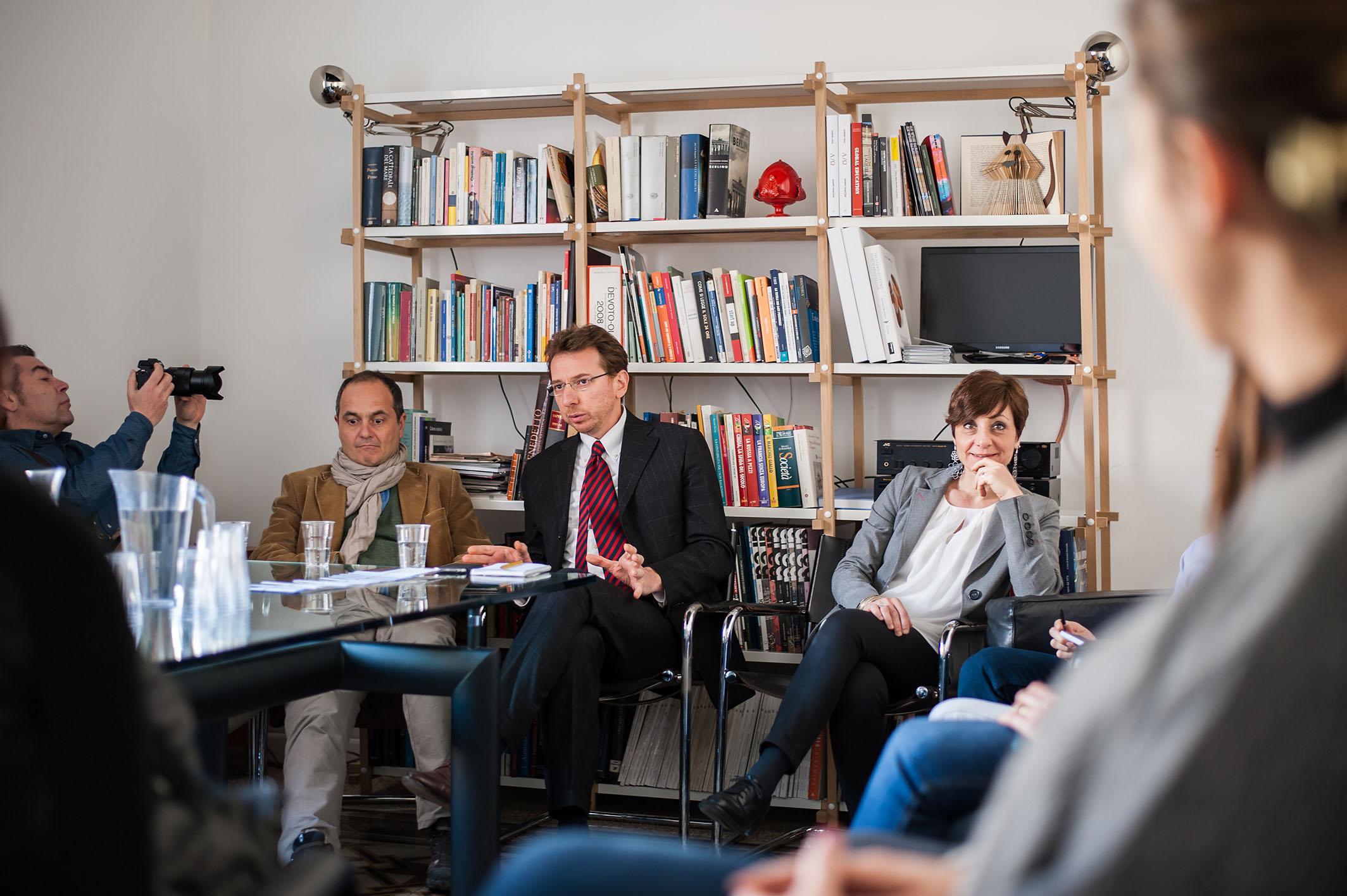 Conferenza con Andrea Ferraretto