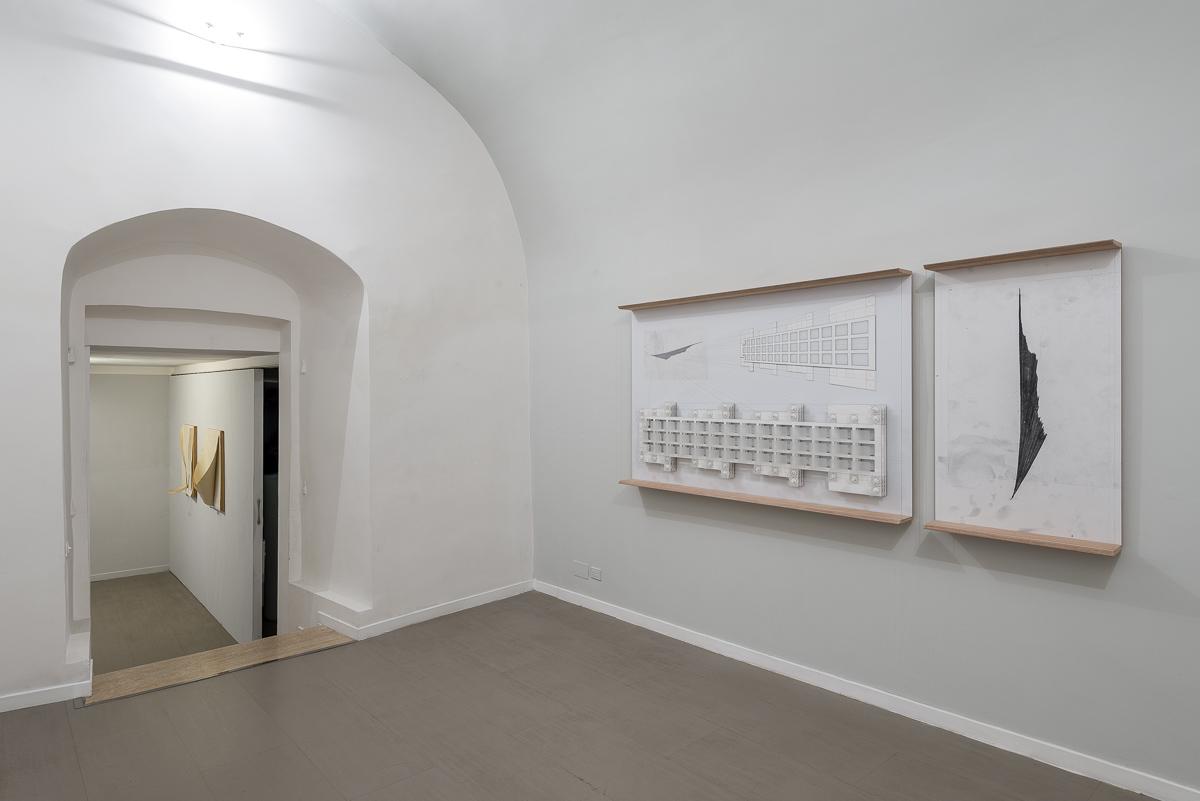 Veduta della mostra. Ph. Sebastiano Luciano.