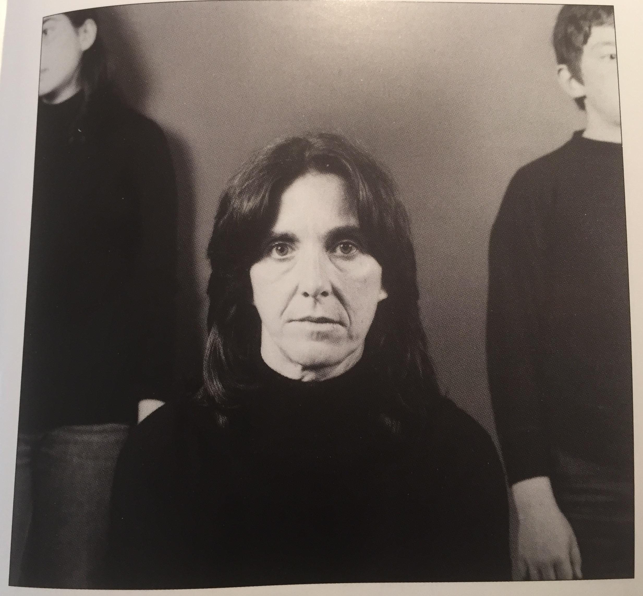 Paolo Mussat Sartor, Ritratto di Silvana Bonomo con i figli Elena e Domenico, 1973