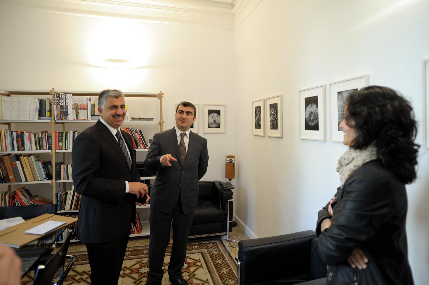 Proiezioni dal Silenzio. Incontro con l'Ambasciatore dell'Iraq. negli uffici Nomos