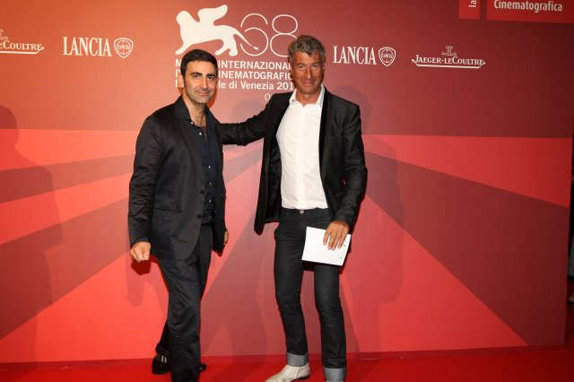 Yuri Ancarani e Maurizio Cattelan