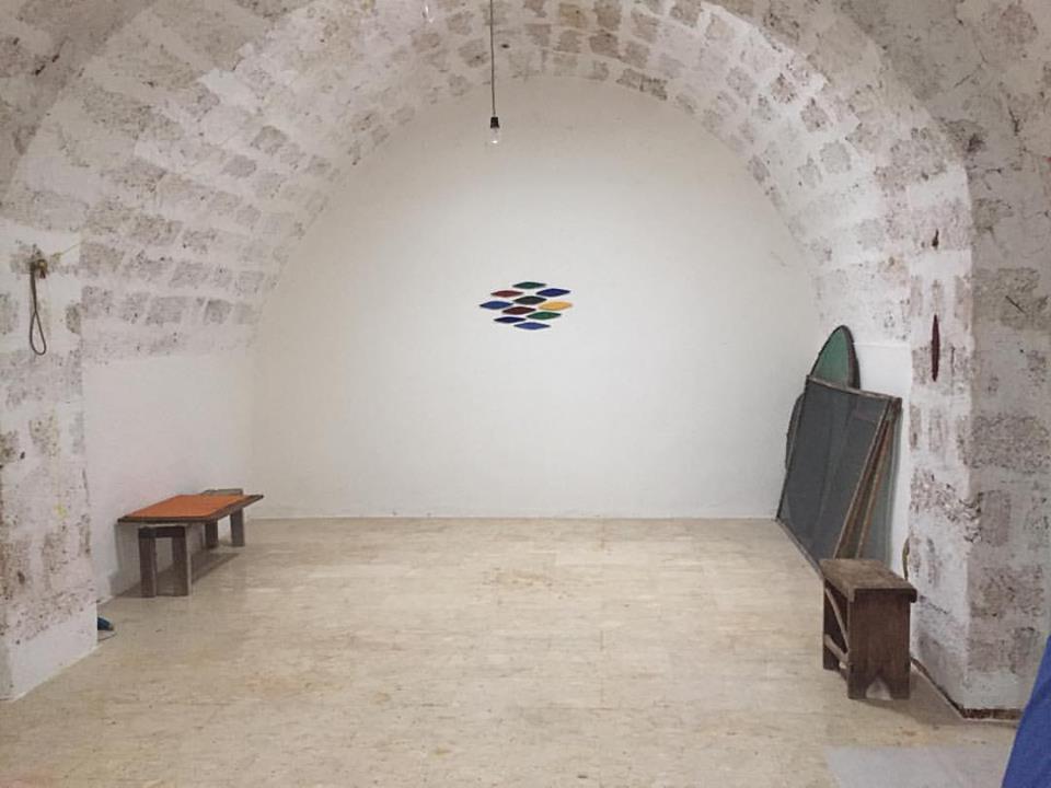 Lo studio di Dirnaichner a Spigolizzi (Lecce)